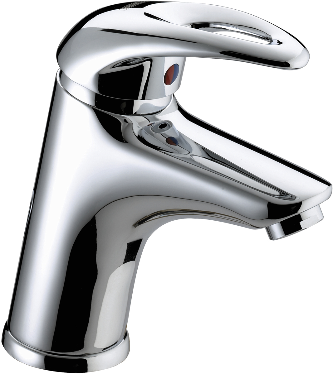 Basin Mixer with Eco-Click and Clicker Waste