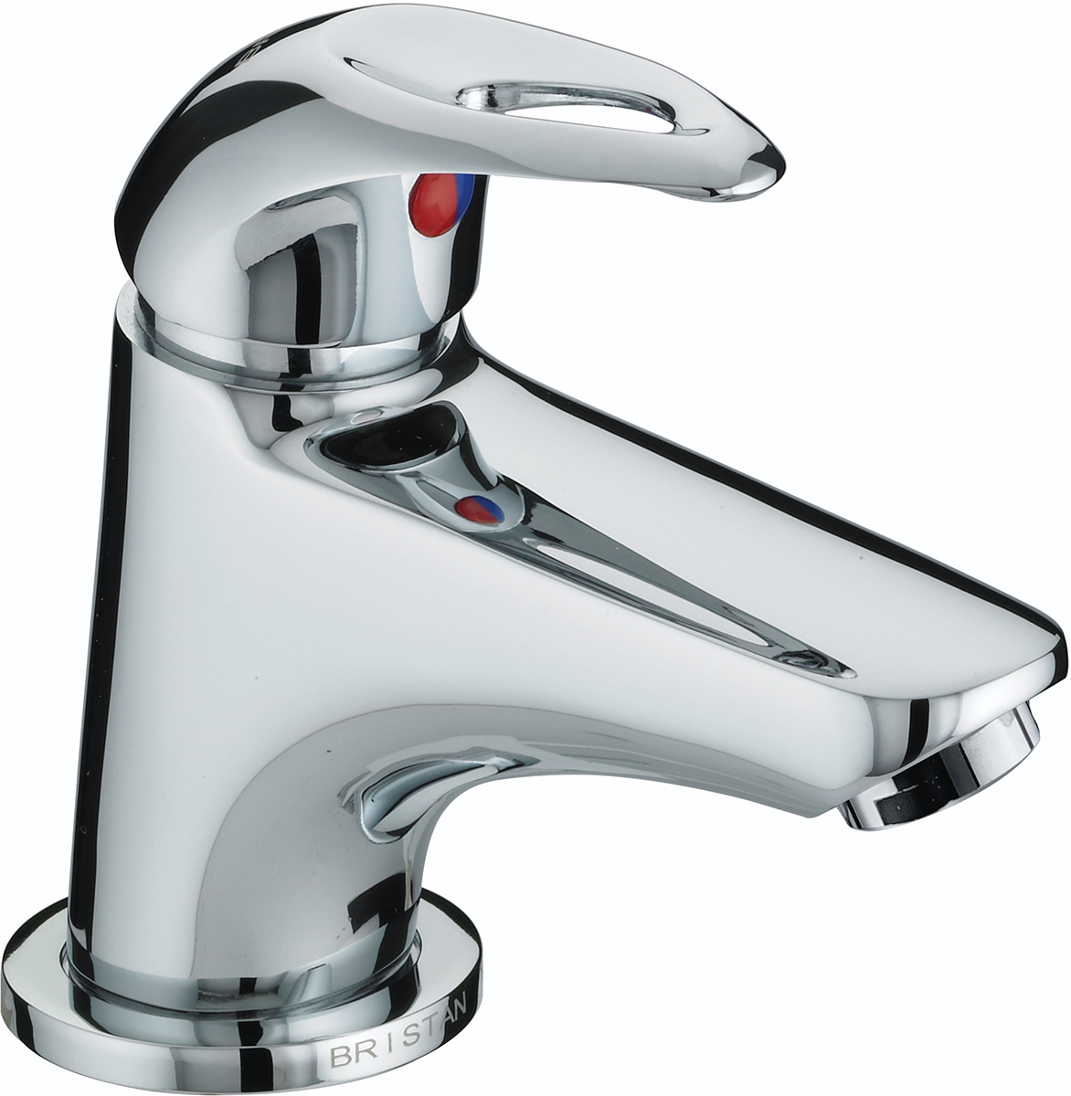 Miniature Basin Mixer with Clicker Waste
