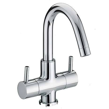 Twin Handled Basin Mixer (without Waste)