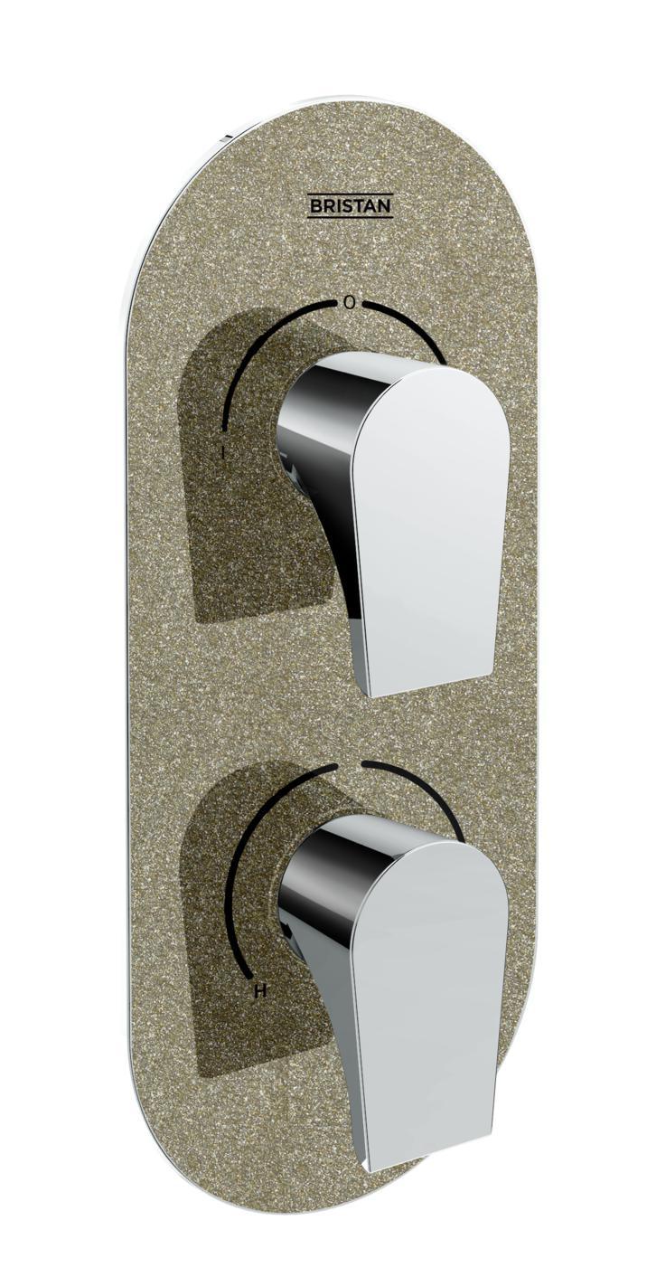 Recessed Concealed Shower Valve with Diverter
