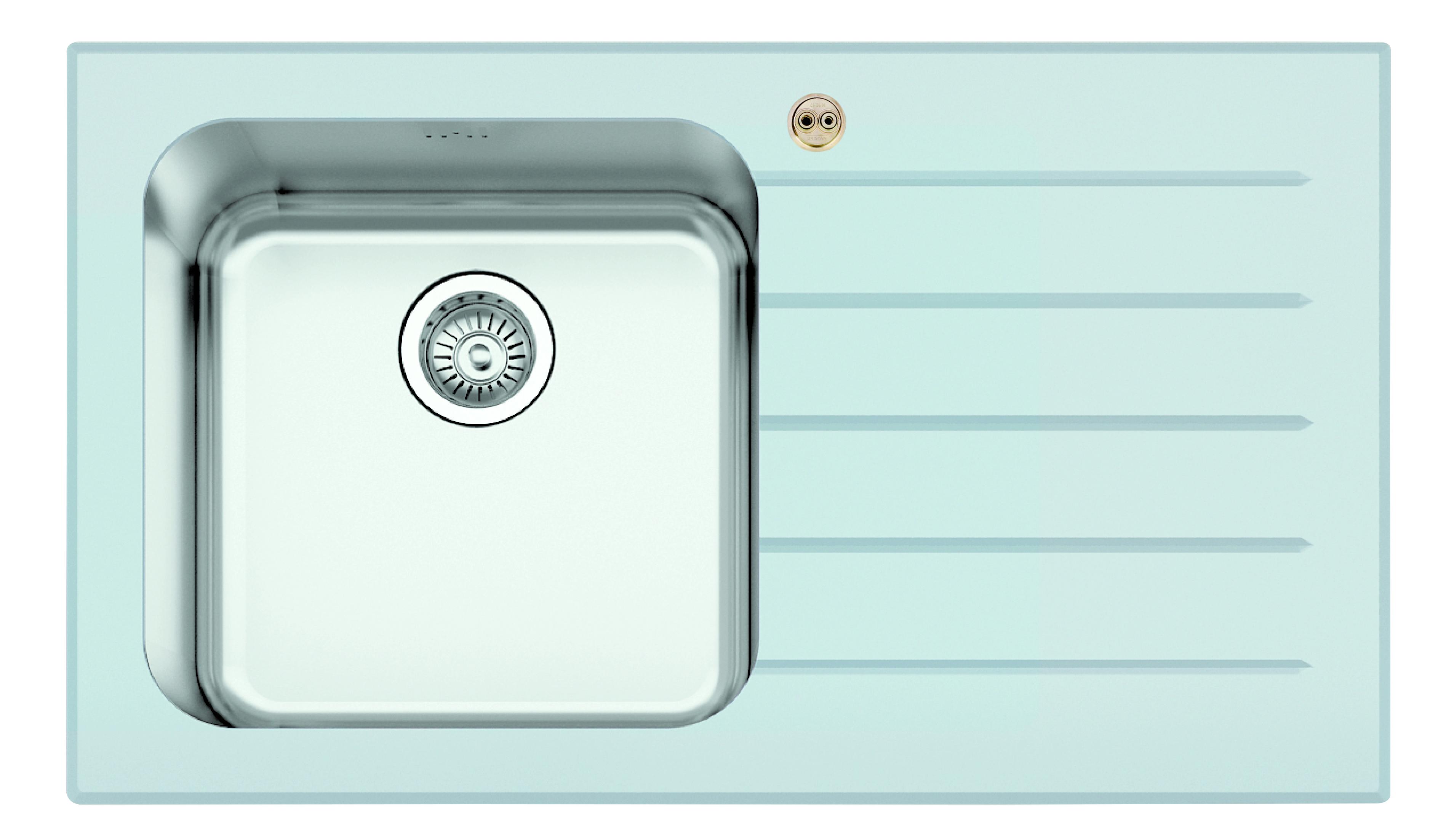 1.0 Bowl Kitchen Sink Right Drainer