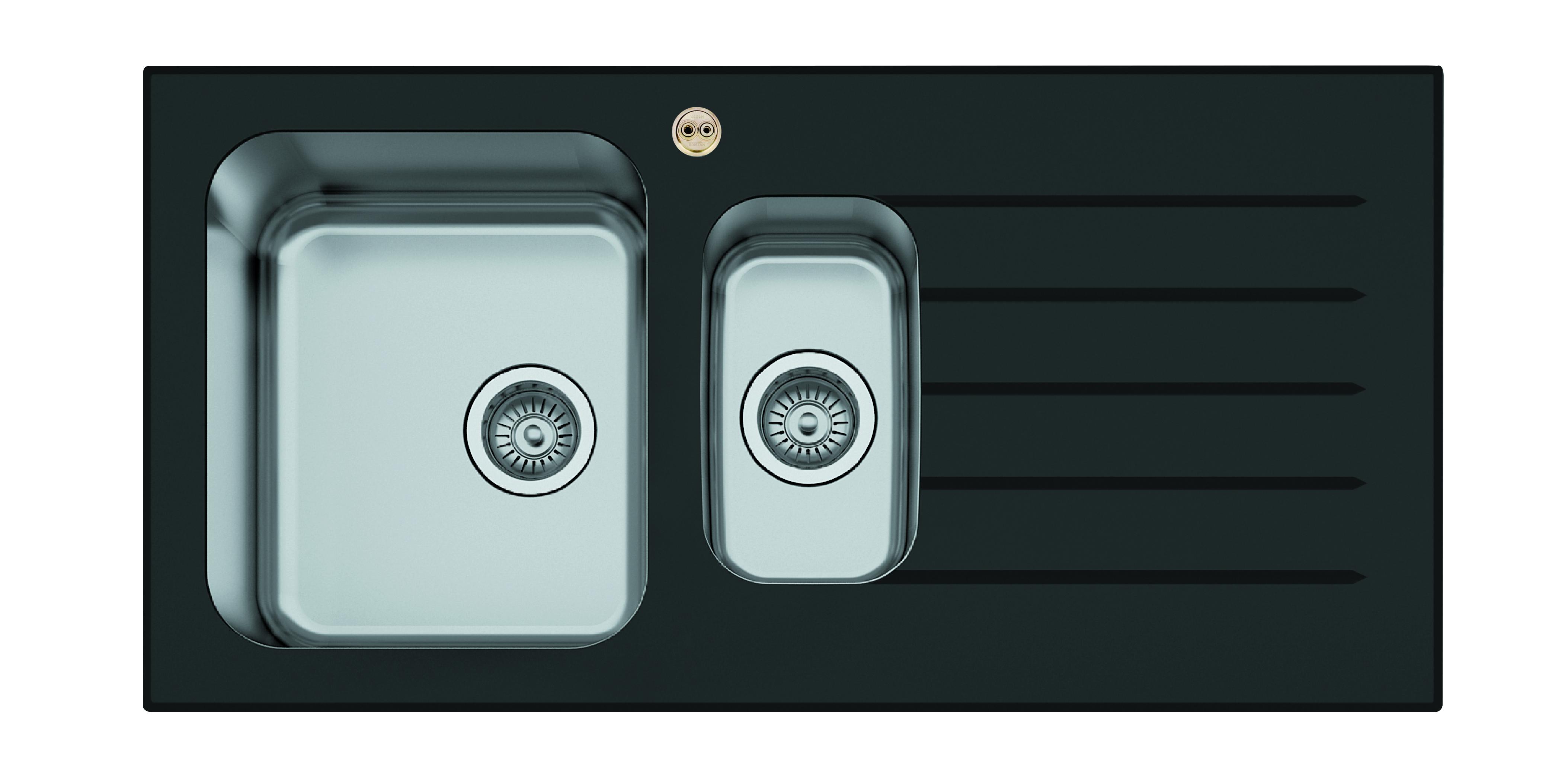 1.5 Bowl Kitchen Sink Right Drainer