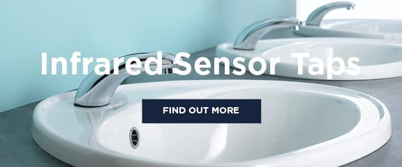 Infrared sensor taps
