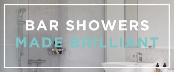 Bar Showers Made Brilliant