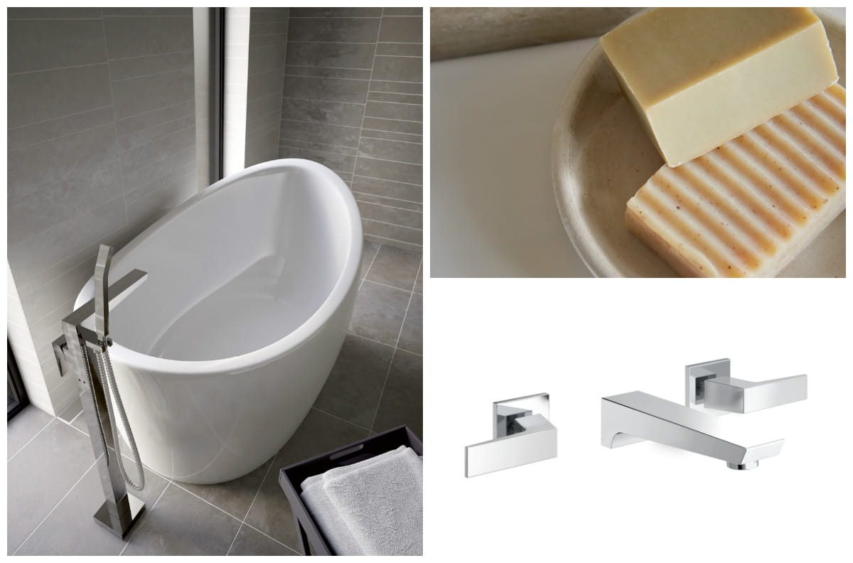 Sail designer collection taps and showers Bristan