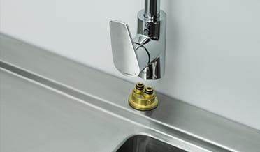 Installation of sink 3