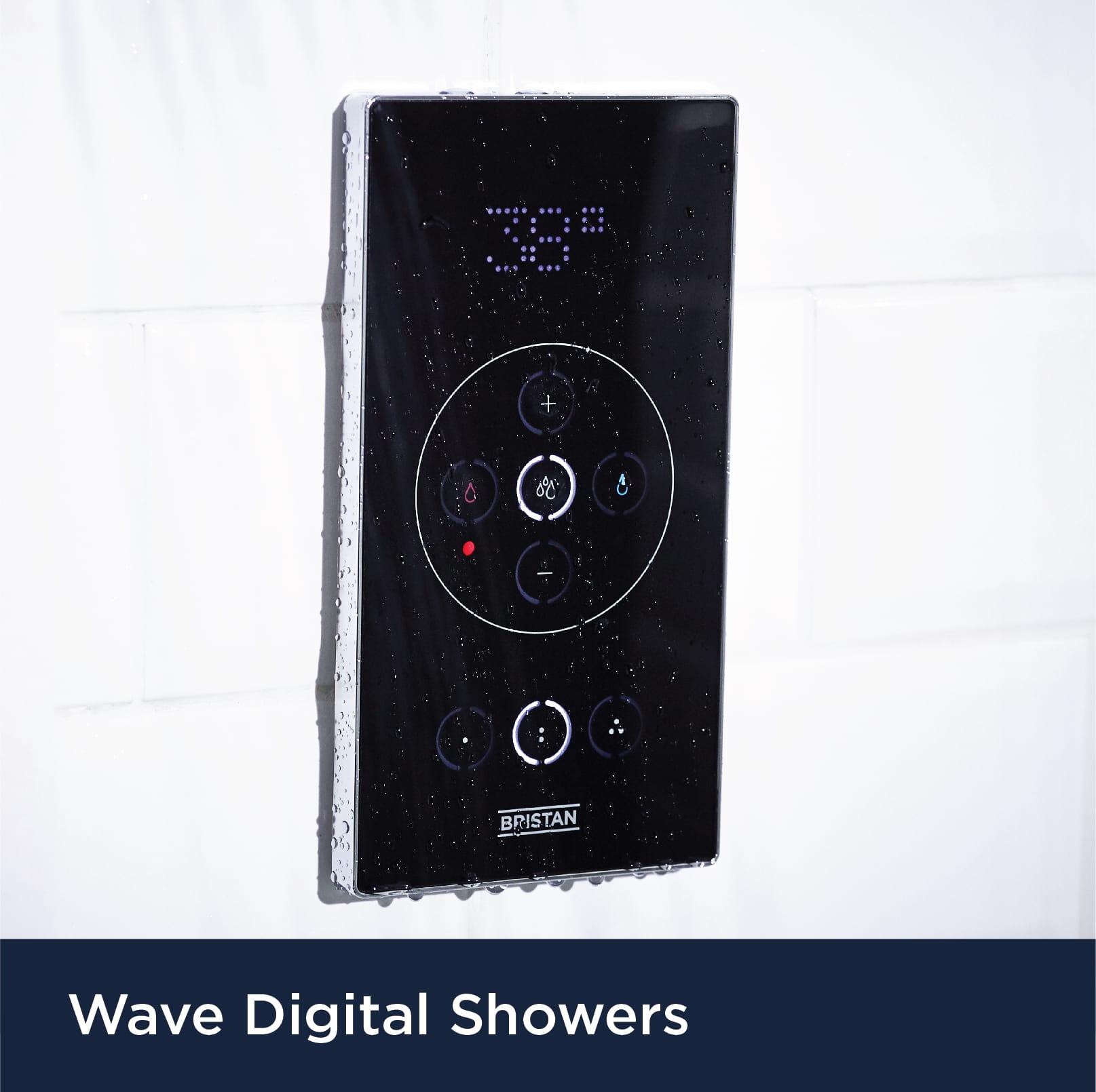 Explore Wave Digital Showers